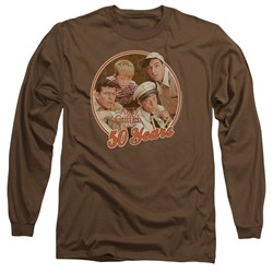 Andy Griffith - Mens 50 Years Long Sleeve T-Shirt