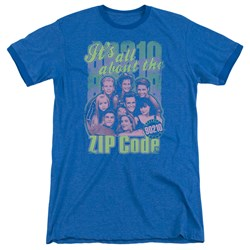 90210 - Mens Zip Code Ringer T-Shirt