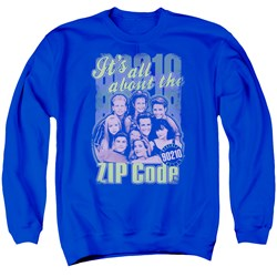 90210 - Mens Zip Code Sweater