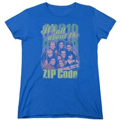 90210 - Womens Zip Code T-Shirt