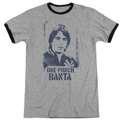 Taxi - Mens One Punch Banta Ringer T-Shirt