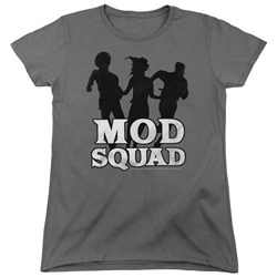 Mod Squad - Womens Mod Squad Run Simple T-Shirt