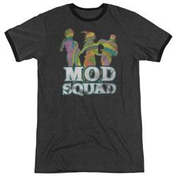 Mod Squad - Mens Mod Squad Run Groovy Ringer T-Shirt