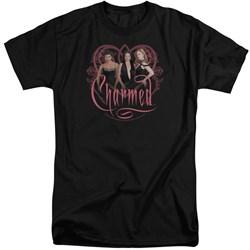 Charmed - Mens Charmed Girls Tall T-Shirt