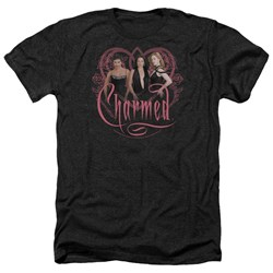 Charmed - Mens Charmed Girls Heather T-Shirt