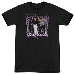 Girlfriends - Mens Girlfriends Ringer T-Shirt