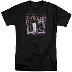 Girlfriends - Mens Girlfriends Tall T-Shirt