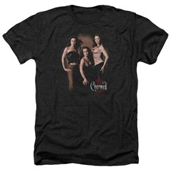 Charmed - Mens Three Hot Witches Heather T-Shirt