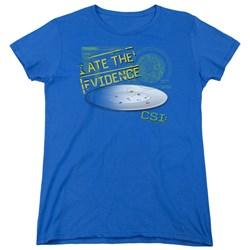 CSI - Womens I Ate The Evidence T-Shirt