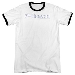 7Th Heaven - Mens 7Th Heaven Logo Ringer T-Shirt