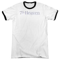 7Th Heaven - Mens 7Th Heaven Logo Ringer T-Shirt