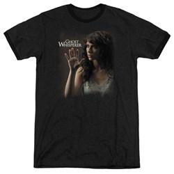 Ghost Whisperer - Mens Ethereal Ringer T-Shirt