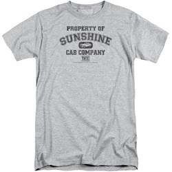 Taxi - Mens Property Of Sunshine Cab Tall T-Shirt