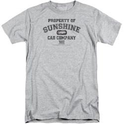 Taxi - Mens Property Of Sunshine Cab Tall T-Shirt