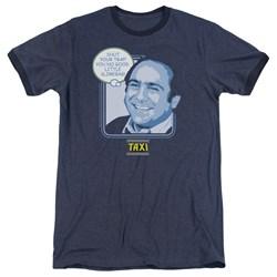 Taxi - Mens Shut Your Trap Ringer T-Shirt