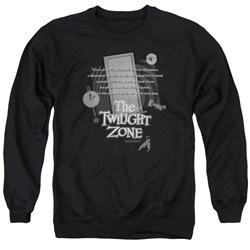 Twilight Zone - Mens Monologue Sweater