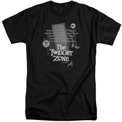 Twilight Zone - Mens Monologue Tall T-Shirt