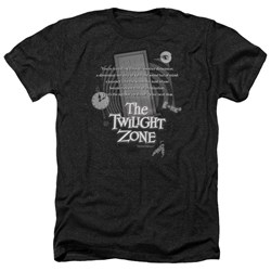 Twilight Zone - Mens Monologue Heather T-Shirt