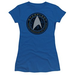 Star Trek Beyond - Juniors Starfleet Patch T-Shirt