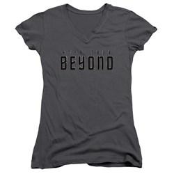 Star Trek Beyond - Juniors Star Trek Beyond V-Neck T-Shirt