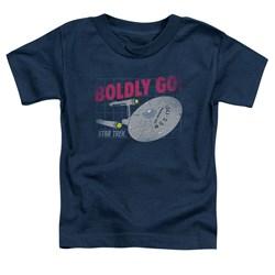 Star Trek - Toddlers Boldly Go T-Shirt
