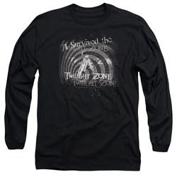 Twilight Zone - Mens I Survived Long Sleeve T-Shirt