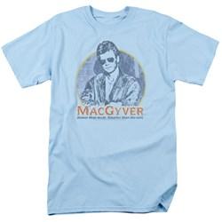 Macgyver - Mens Title T-Shirt