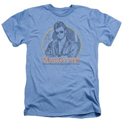 Macgyver - Mens Title Heather T-Shirt