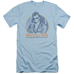 Macgyver - Mens Title Slim Fit T-Shirt