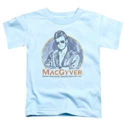 Macgyver - Toddlers Title T-Shirt