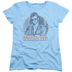 Macgyver - Womens Title T-Shirt