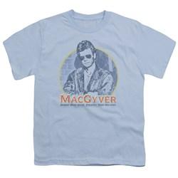 Macgyver - Big Boys Title T-Shirt