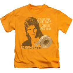 Macgyver - Little Boys Duct Tape T-Shirt