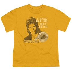 Macgyver - Big Boys Duct Tape T-Shirt