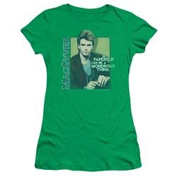 Macgyver - Juniors Wonderous Paperclip T-Shirt