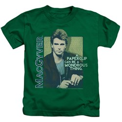Macgyver - Little Boys Wonderous Paperclip T-Shirt