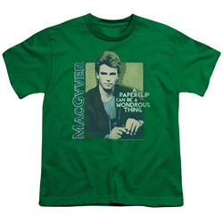 Macgyver - Big Boys Wonderous Paperclip T-Shirt