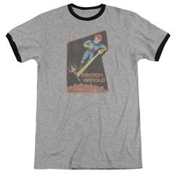 Scorpion - Mens Proton Arnold Poster Ringer T-Shirt