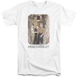 Andy Griffith - Mens Tree Photo Tall T-Shirt