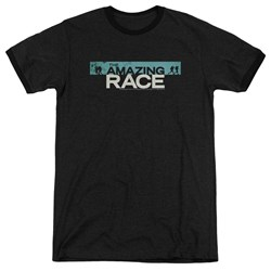 Amazing Race - Mens Bar Logo Ringer T-Shirt