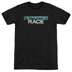 Amazing Race - Mens Bar Logo Ringer T-Shirt