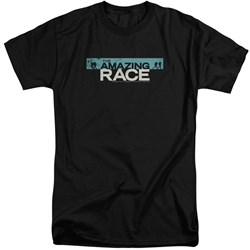 Amazing Race - Mens Bar Logo Tall T-Shirt