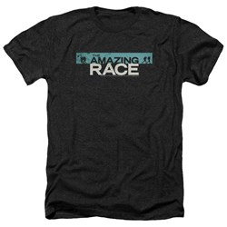 Amazing Race - Mens Bar Logo Heather T-Shirt