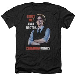 Criminal Minds - Mens Trust Me Heather T-Shirt