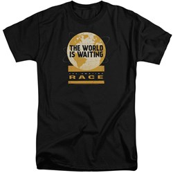 Amazing Race - Mens Waiting World Tall T-Shirt