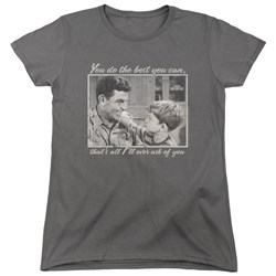 Andy Griffith - Womens Wise Words T-Shirt