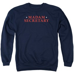 Madam Secretary - Mens Logo Sweater