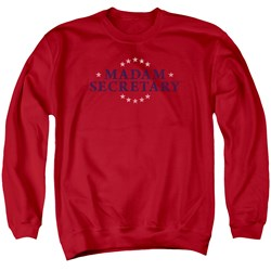 Madam Secretary - Mens Distress Logo Sweater