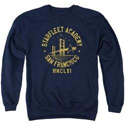 Star Trek - Mens Collegiate Bridge Sweater