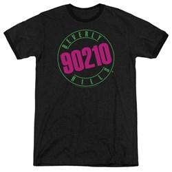 90210 - Mens Neon Ringer T-Shirt